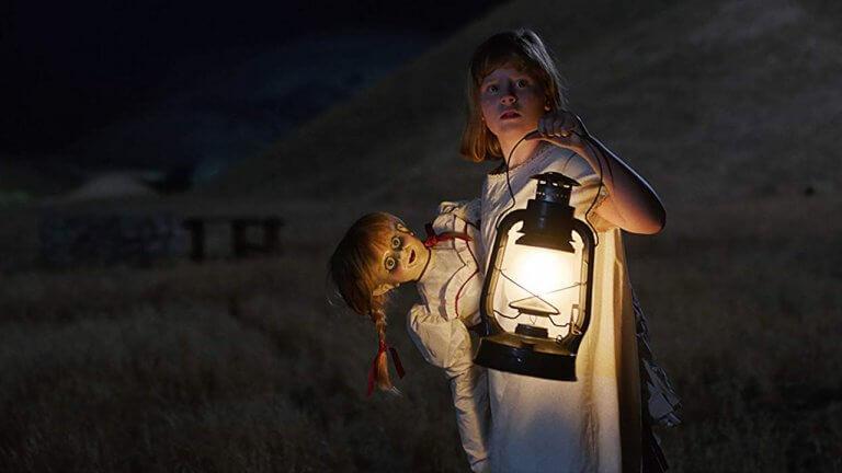 《安娜貝爾:造孽》劇照。