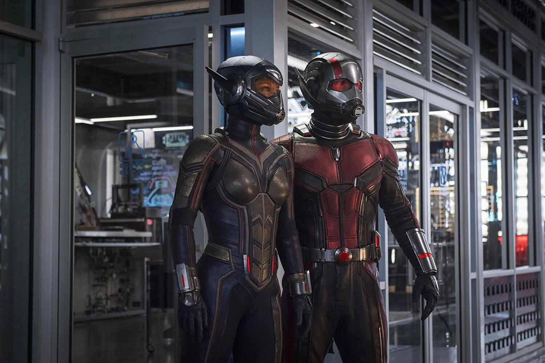 漫威電影宇宙的第 20 部超級英雄電影《 蟻人與黃蜂女 》。