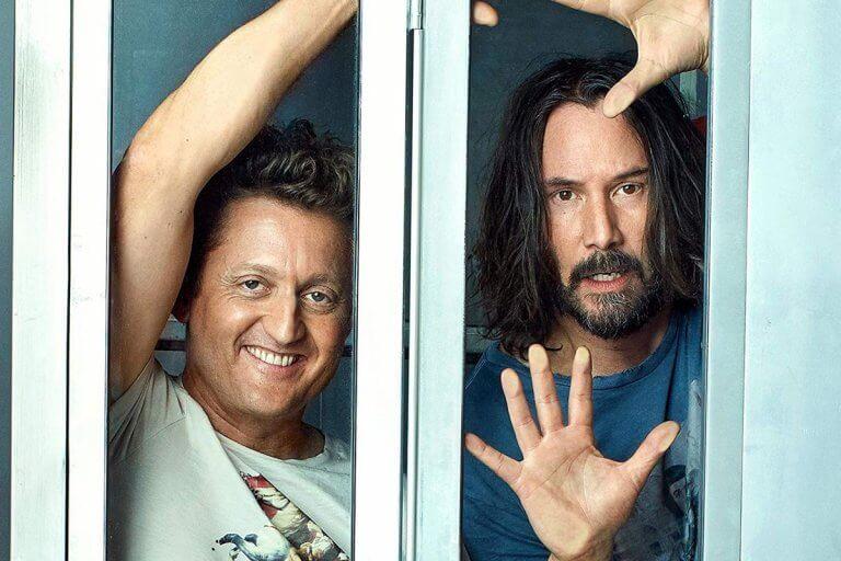 阿歷克斯溫特(Alex Winters) 與基努李維 (Keanu Reeves) 將回歸演出《阿比阿弟的冒險》(Bill & Ted's Excellent Adventure) 。