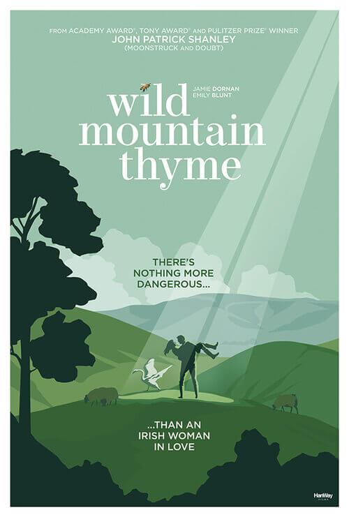 約翰派屈克史丹力劇作改編電影《Wild Mountain Thyme》,暫譯《野山百里香》即將推出。