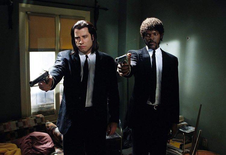 《黑色追緝令》(Pulp Fiction) 劇照。