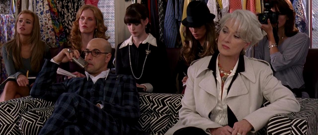 2006 年《穿著 Prada 的惡魔》。