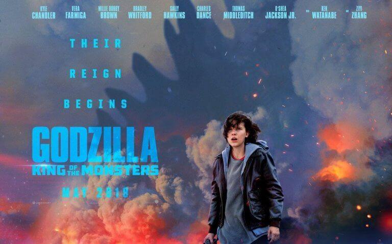 《哥吉拉 2:怪獸之王》即將上映。