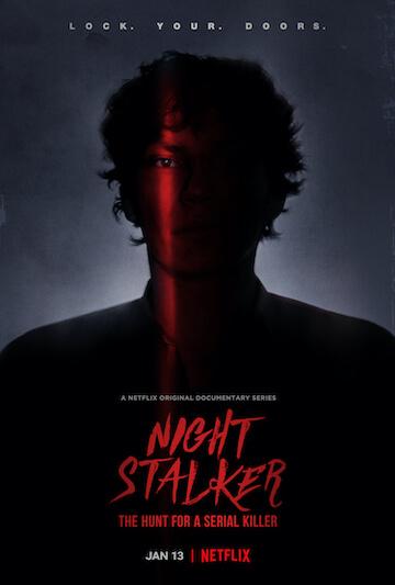 《夜行者:极恶连环杀手》海报。