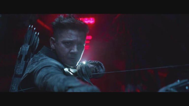 《復仇者聯盟:終局之戰》中,傑瑞米雷納飾演的鷹眼/浪人的表現值得期待。