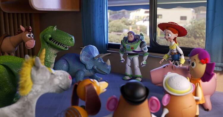 《玩具總動員4》(Toy Story 4) 劇照。