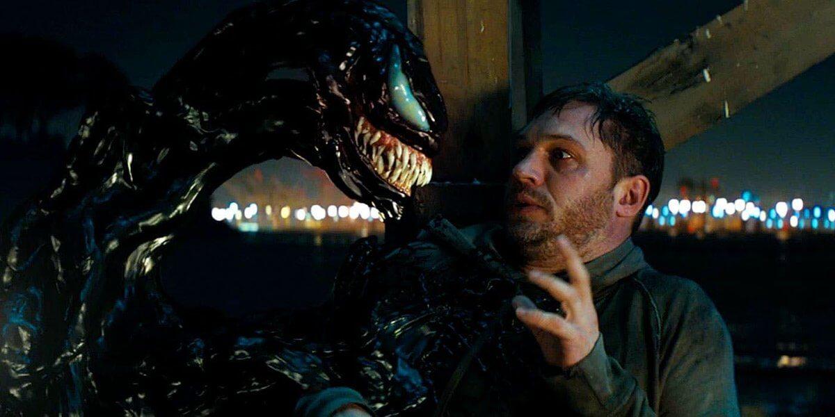 《 猛毒 》電影主軸放在 艾迪 與 共生體 的相處磨合上。