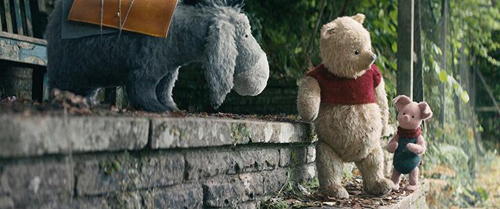 摯友維尼 影評 | 布偶版 小熊維尼 小豬 跳跳虎 屹耳 依舊可愛逗趣。