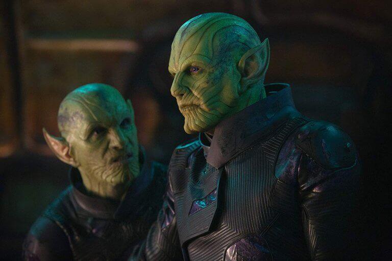 漫威超級英雄電影《驚奇隊長》中,由班曼德森飾演的「史克魯爾人」將軍塔洛斯。