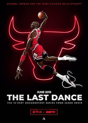 以美國籃球傳奇球員麥可喬丹為主的紀錄片影集《最後一舞/最後之舞》(Last Dance)。