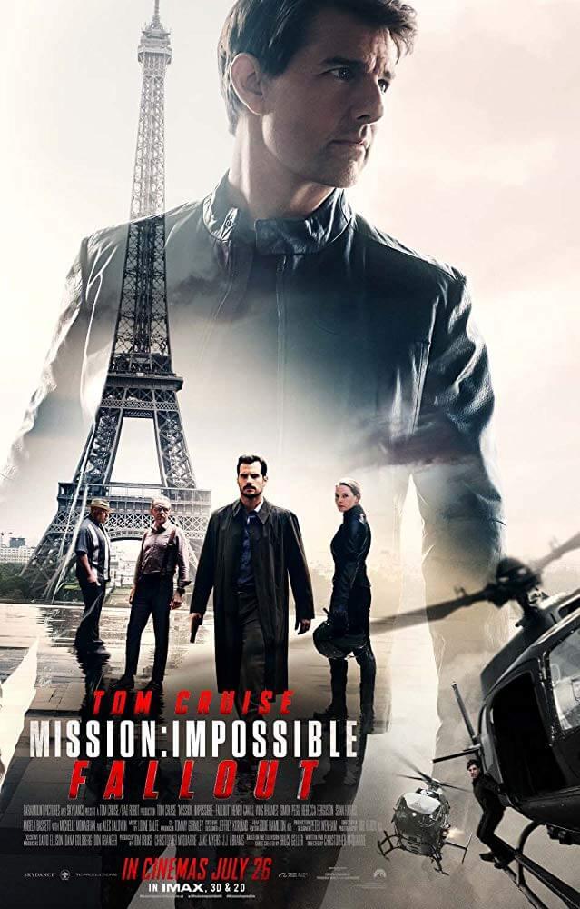 《 不可能的任務 : 全面瓦解 》 電影海報