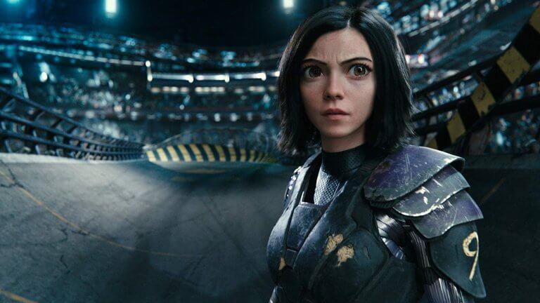 好萊塢年度動作特效大片《艾莉塔:戰鬥天使》。