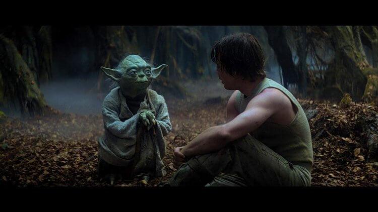 尤達首次出現於 1980 年的《星際大戰五部曲:帝國大反擊》。