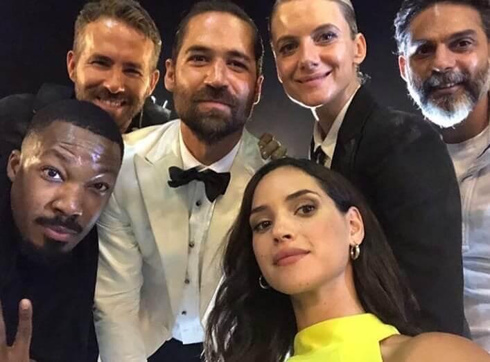 《鬼影特攻:以暴制暴》6 位主演陣容:萊恩雷諾斯、梅蘭妮洛宏、安卓亞霍娜、馬奴賈西亞魯爾福、柯瑞霍金斯以及班哈迪。