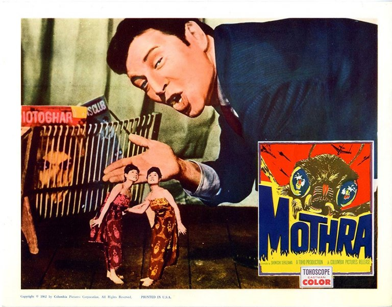 《摩斯拉》不僅是特攝怪獸片,更多的是日本對當年國際情勢的譴責。