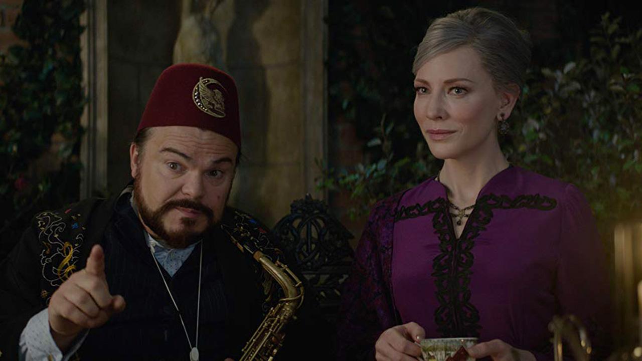 凱特布蘭琪&傑克布萊克暢談《滴答屋》全美首週票房冠軍的魔幻冒險首圖