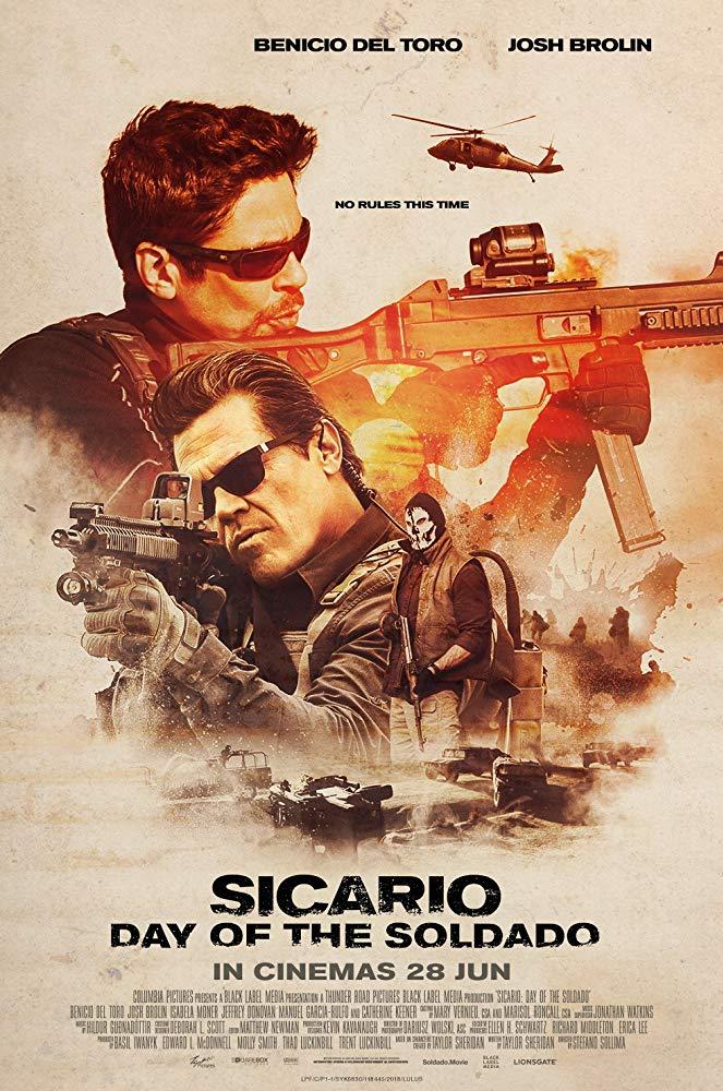 《 怒火邊界2:毒刑者 》 電影海報 。