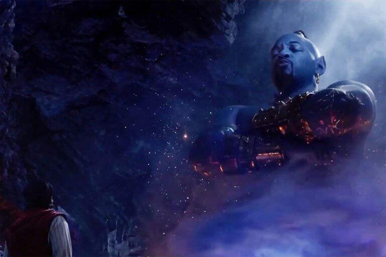 威爾史密斯在真人版《阿拉丁》電影中飾演的神燈精靈,打造出有別於動畫電影中威爾史密斯配音版本的另一種親切與高人氣。