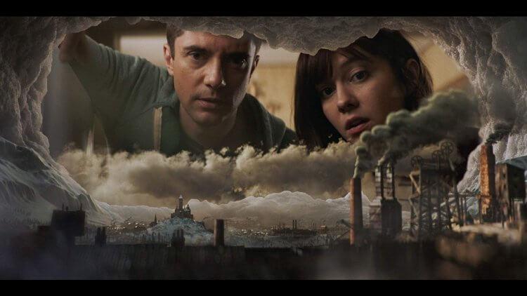 Netflix 成人向動畫影集《愛 x 死 x 機器人》(LOVE, DEATH, AND ROBOTS) 第一季中的「冰河時期」劇照。