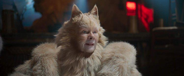 茱蒂丹契 (Judi Dench) 因在《貓 CATS》中的演出入圍金酸莓獎最差女配角。