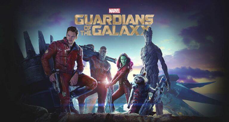 漫威系列超級英雄電影《星際異攻隊》。