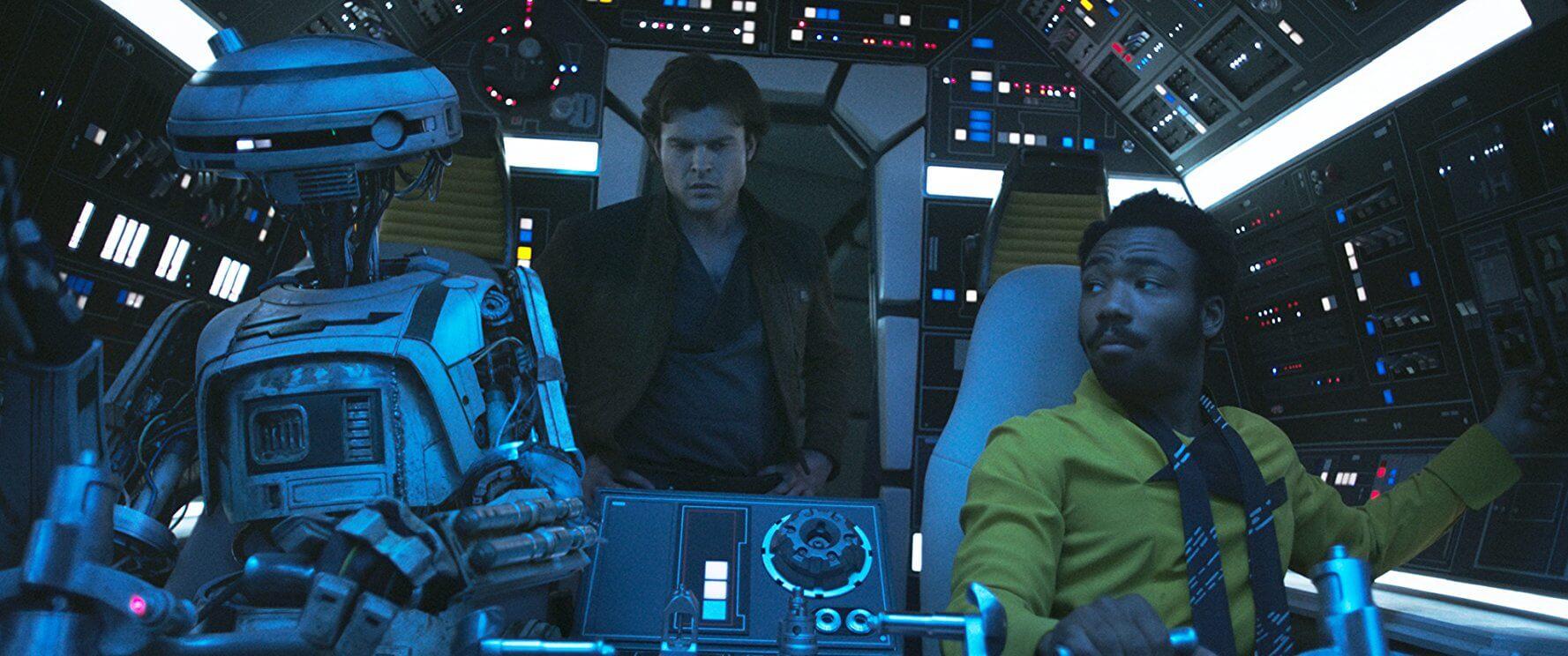 2018年上半年星戰迷的話題,當然聚集在 星際大戰 外傳電影 《 韓索羅 》上。 本片由 朗霍華 執導, 盧卡斯影業 推出。