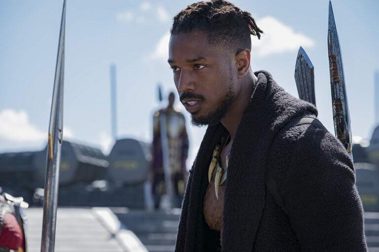 《黑豹》中與主角帝查拉搶奪瓦干達王位的齊爾蒙格,由麥可 B 喬丹飾演。