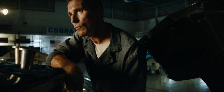 《賽道狂人》(Ford v. Ferrari) 中的克里斯汀貝爾 (Christian Bale)