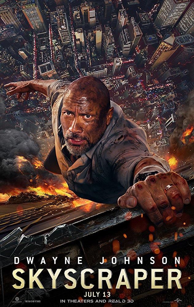 《 摩天大樓 》 電影海報 。