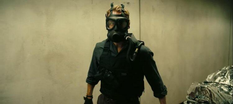 諾蘭導演電影《天能》劇照。