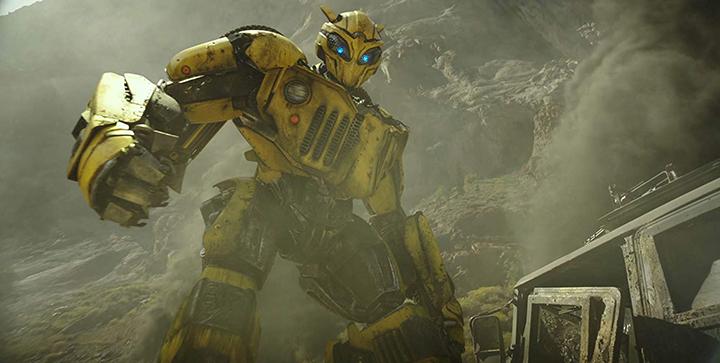 《 變形金剛 》系列, 大黃蜂電影 《大黃蜂》最新預告公開。