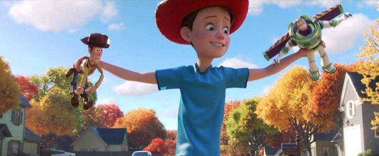 《玩具總動員》(Toy Story ) 劇照。
