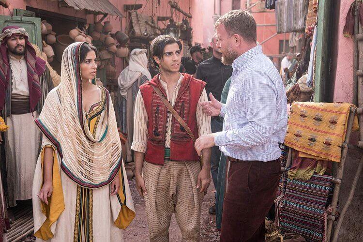 《阿拉丁》(Aladdin) 真人版電影。