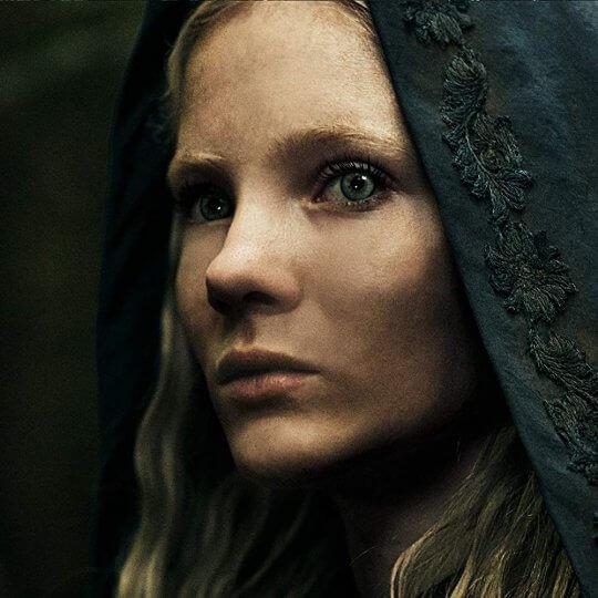 芙蕾雅艾倫飾演傑洛特的養女—公主希里