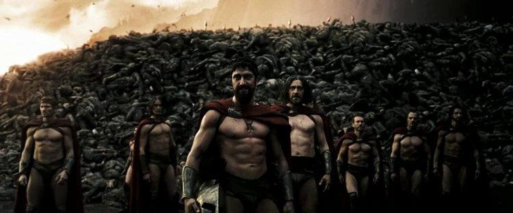 《300 壯士:斯巴達的逆襲》劇照。