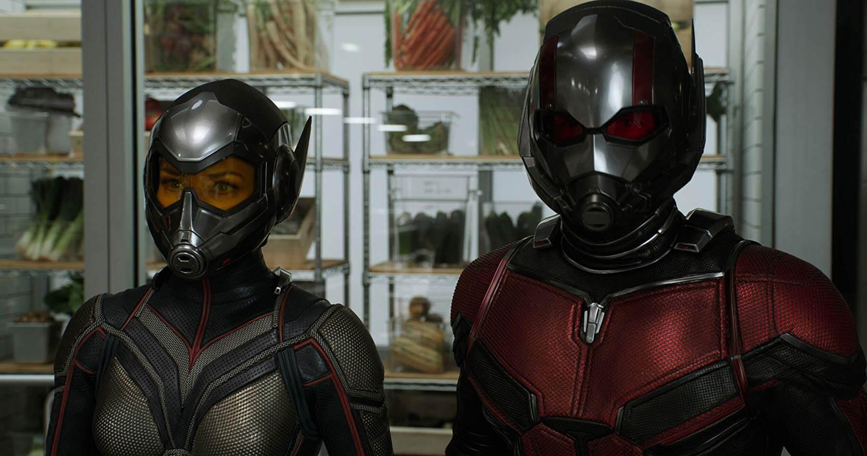 MCU 漫威 超級英雄電影 《 蟻人與黃蜂女 》 劇照 。