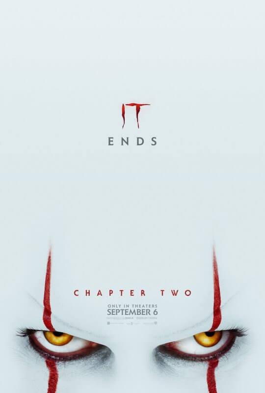 《牠:第二章》將於 9 月 5 日起搶先在台上映。