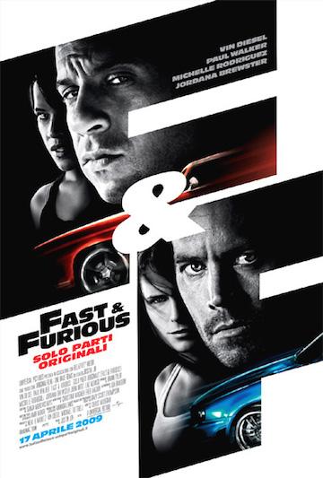 保羅沃克與馮迪索主演《玩命關頭》(The Fast and the Furious)。