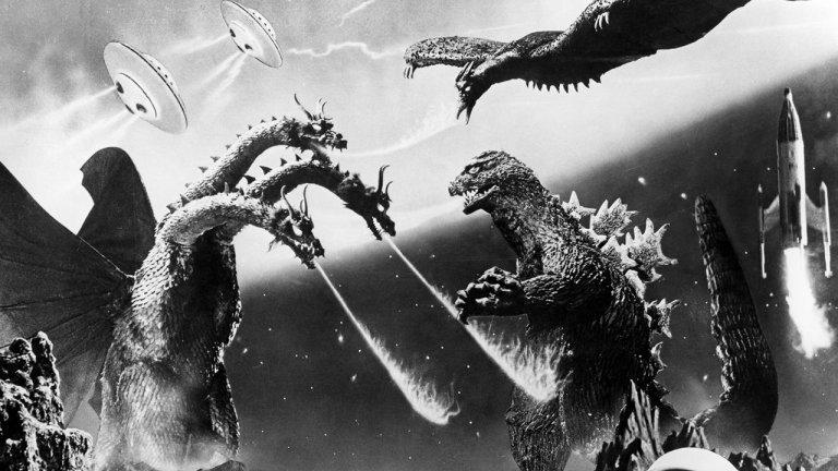 1965 年東寶哥吉拉系列特攝怪獸片《怪獸大戰爭》。