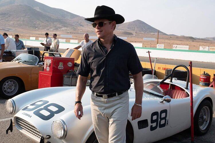 《賽道狂人》(Ford v. Ferrari) 中的麥特戴蒙 (Matt Damon)