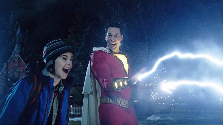 大衛 F 桑德柏格導演作品《沙贊!》中,處處可見他對 DC 漫畫系列的喜愛與致敬。