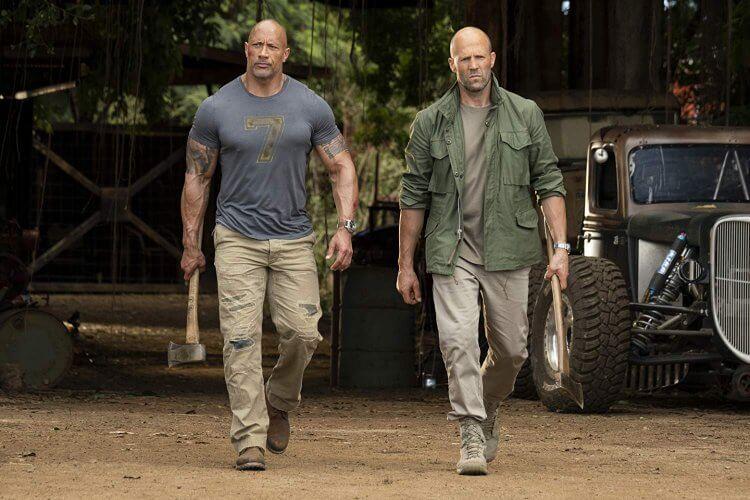 《玩命關頭:特別行動》(Fast and Furious Presents: Hobbs and Shaw) 劇照。