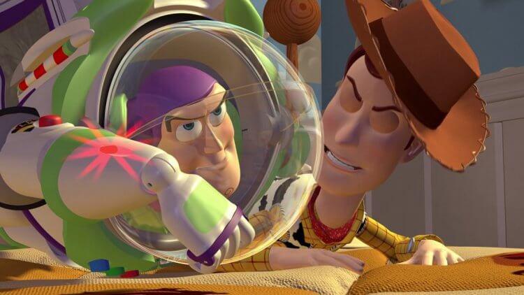 《玩具總動員》巴斯光年與胡迪