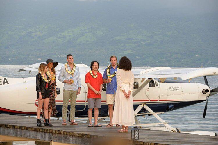 《逃出夢幻島》主演露西海爾、歐陽萬成、奧斯汀史托爾、Maggie Q,以及瑞安漢森。
