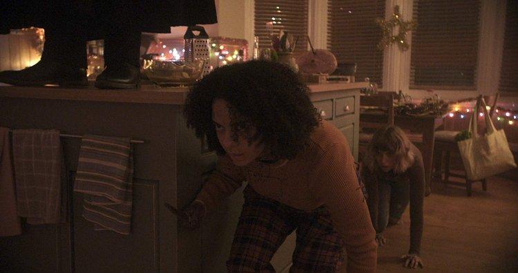 《黑色聖誕節》劇照。