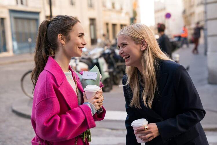 《艾蜜莉在巴黎》劇照。
