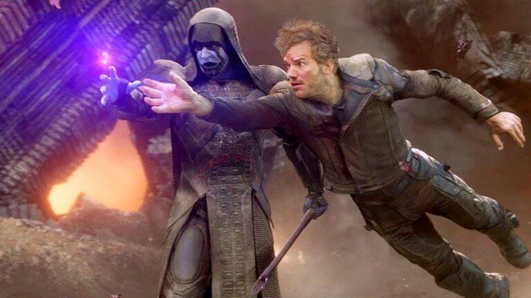 詹姆斯岡恩曾替迪士尼旗下的漫威工作室推出兩部《星際異攻隊》電影,圖為片中反派「控訴者羅南」。