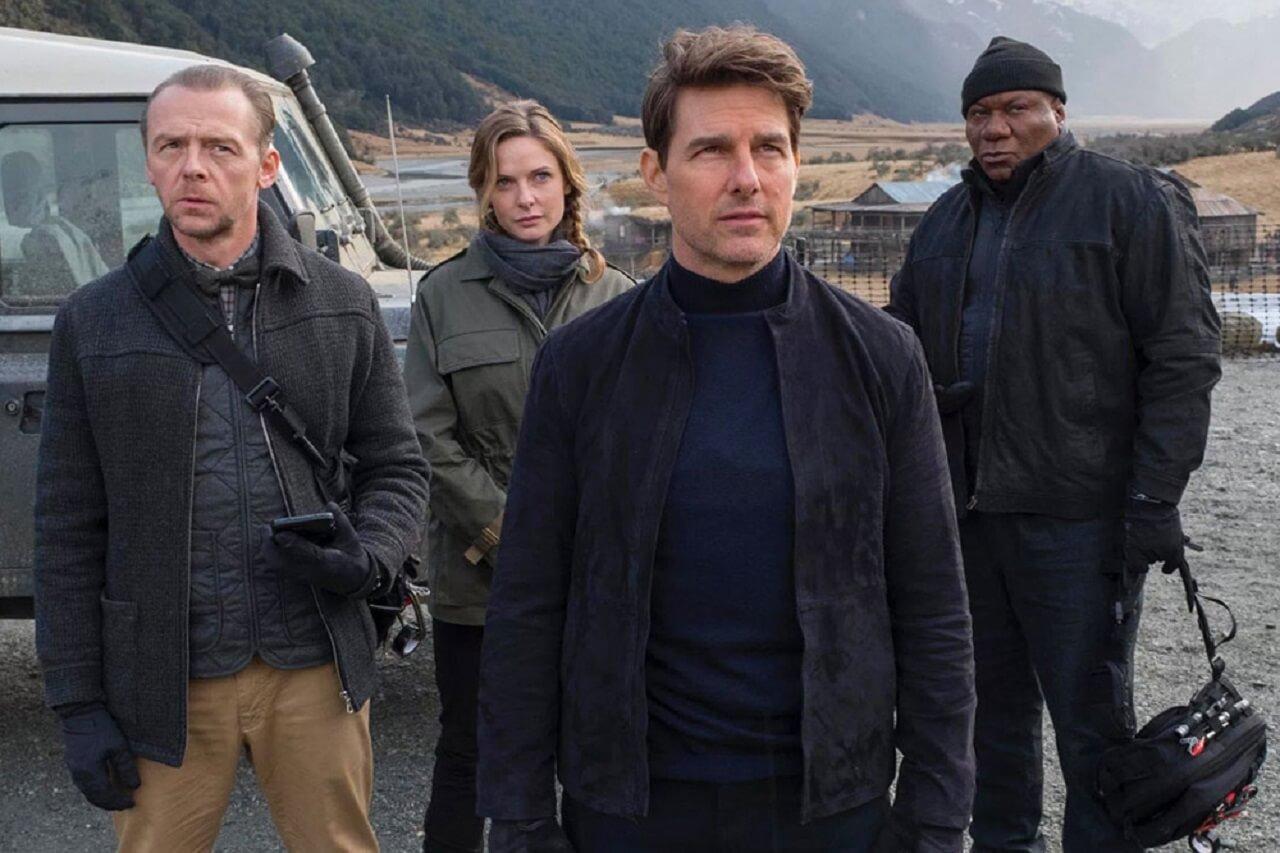 伊森韓特 與 本集《 MI6 》中一同作戰的團隊夥伴們