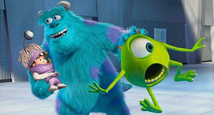 來自《怪獸電力公司》(Monsters, Inc.) 的「大眼仔」是皮克斯動畫中的經典角色。