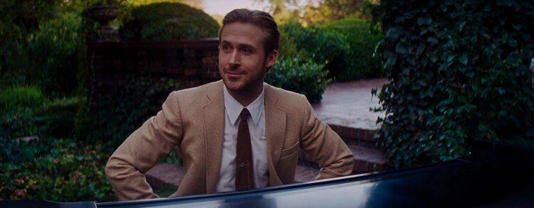 《樂來越愛你》(La La Land) 中的萊恩葛斯林 (Ryan Gosling)